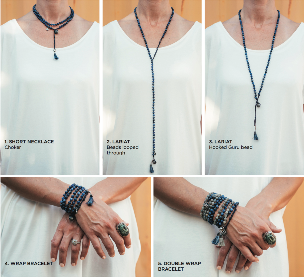How to double wear wrap bracelet