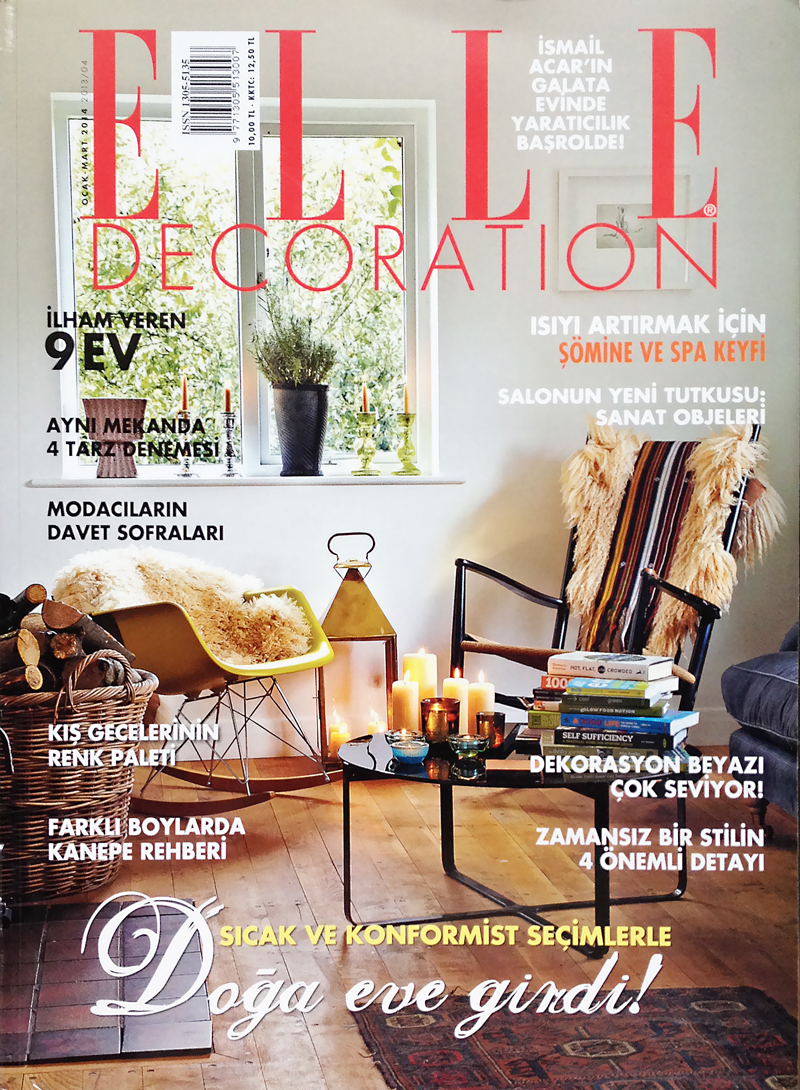 Elle Decoration January 2014 Yasha Butler