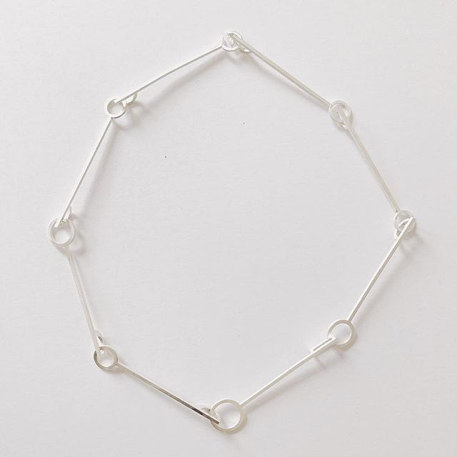 Necklace mock-up . . . #yashabutler #minimal #jewelry #minimalstyle #minimaljewelry #slowfashion