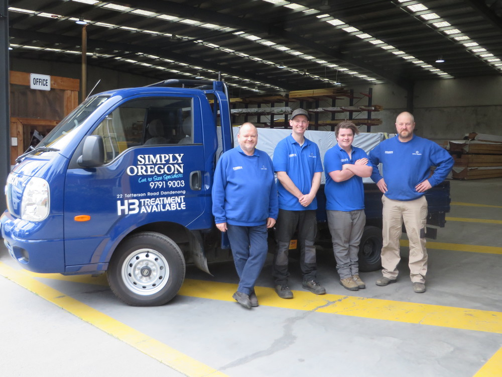 Cut to Size Oregon up to 11m Delivered Australia Wide