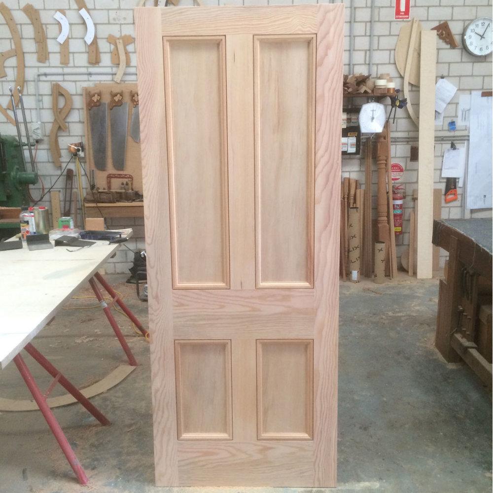 mid century door in douglas fir oregon.jpg