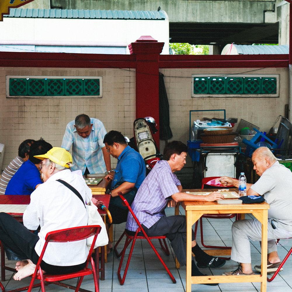 Chinese settlement community in Charoen Krung