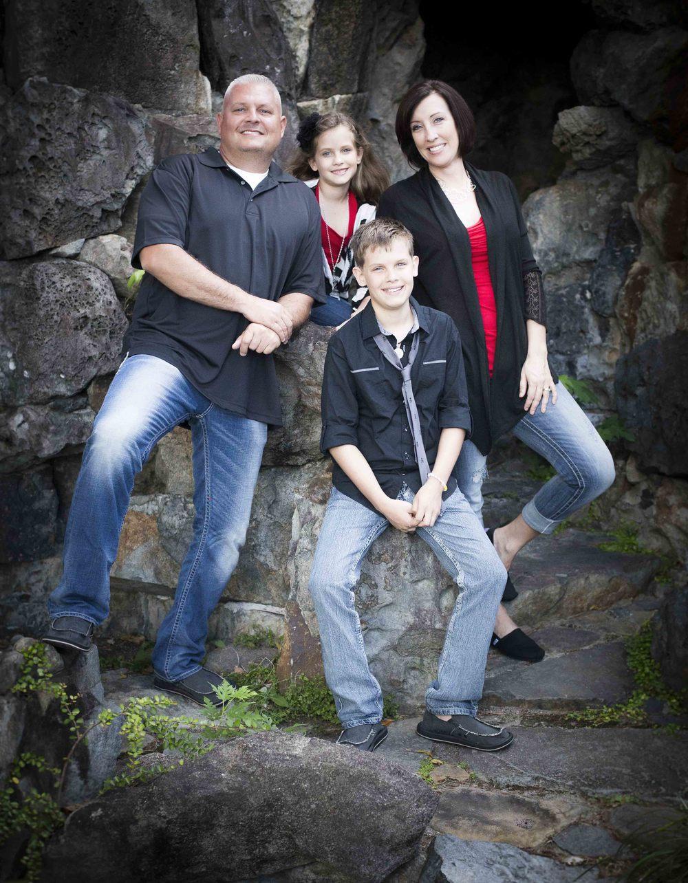 Family Portrait, Goldsboro NC Photographer