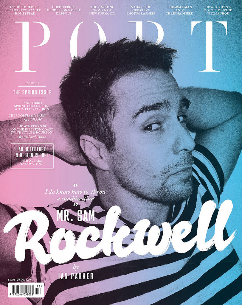 Sam Rockwell Port Magazine
