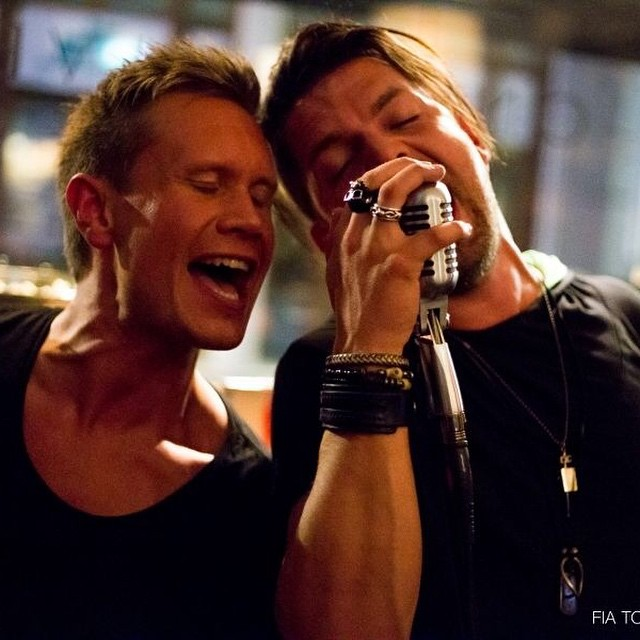 Bromance during our gig at 2112. #2112 #themotherload