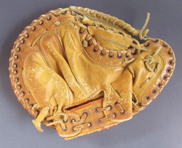 Baseball Glove Paint : Yogi berra baseball glove painting — sean kane