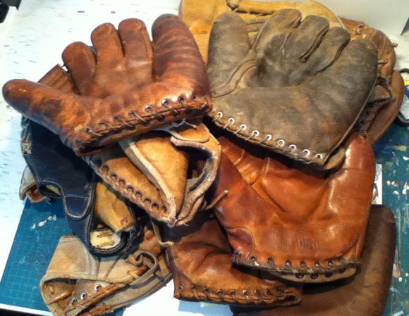 Baseball Glove Paint : Where do you find the baseball gloves — sean kane