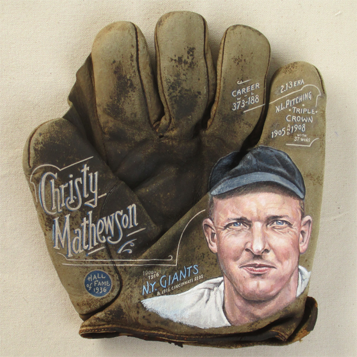 Christy Mathewson at The National Pastime Museum [SOLD]  Info >