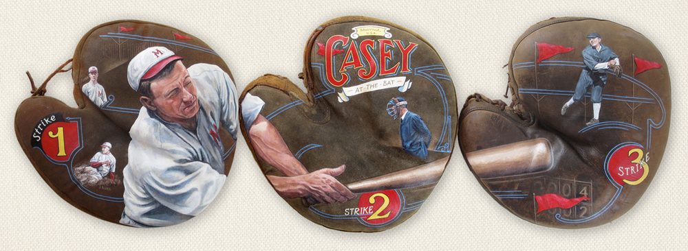 Casey at the Bat. Collection of The National Pastime Museum [SOLD] Info >