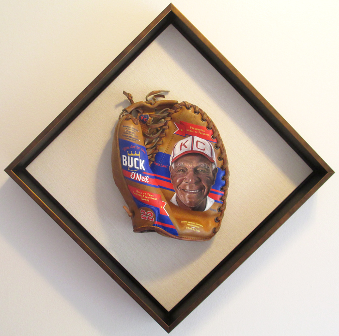 Sean-Kane-Buck-ONeil-baseball-glove-painting-framed.jpg