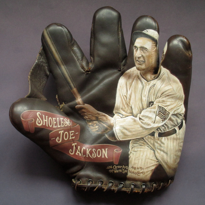 Shoeless Joe Jackson. Collection of TNPM [SOLD] Info >