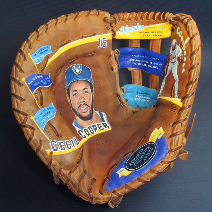 Cecil Cooper for Milwaukee Brewers Fantasy Camp [SOLD] Info >