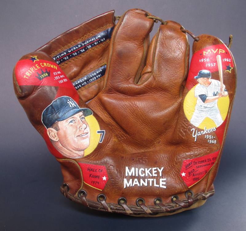 Sean-Kane-Mickey-Mantle-baseball-glove-art.jpg