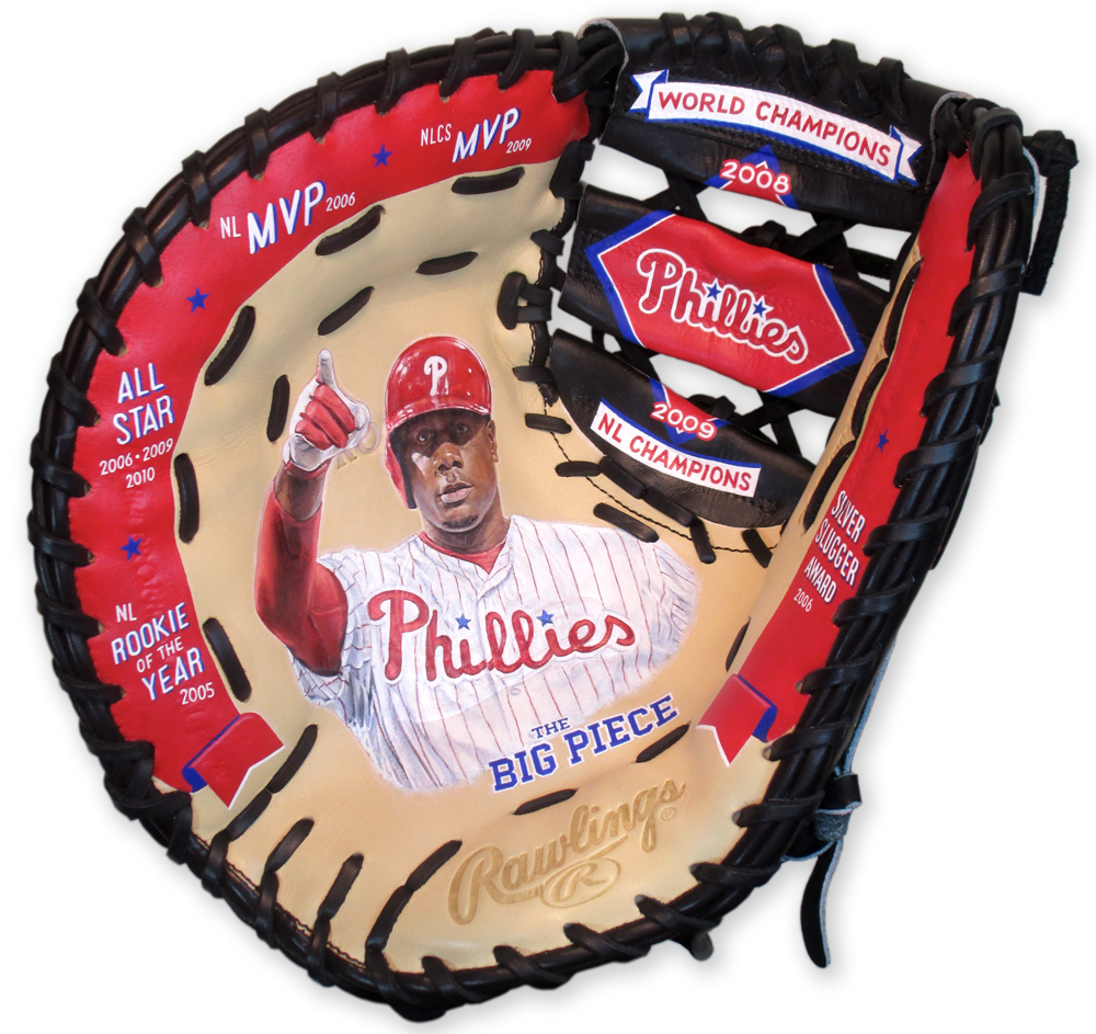Ryan Howard for the Philadelphia Phillies [SOLD] Info >