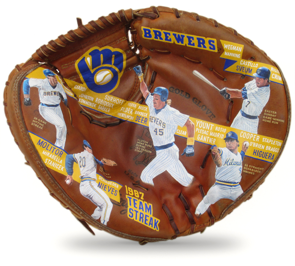 Milwaukee Brewers 1987 'Team Streak' [SOLD] Info >