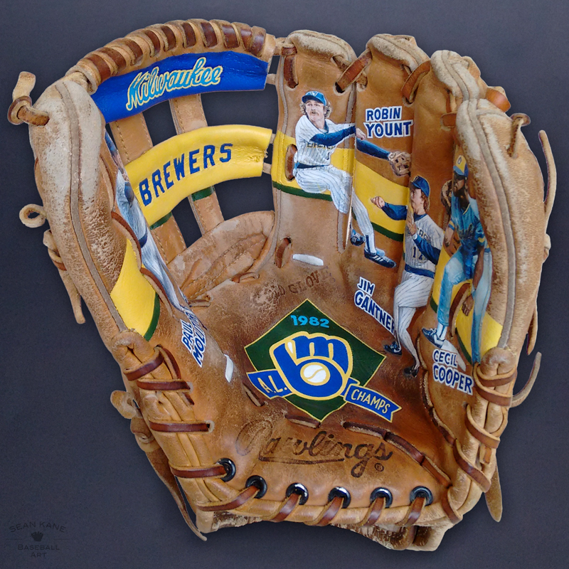 Milwaukee Brewers 1982 Infield [SOLD] Info >