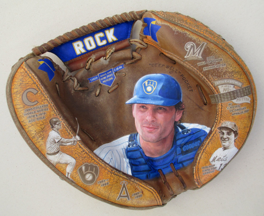 Bill Schoeder, Brewers Catcher, Broadcaster [SOLD]  Info >