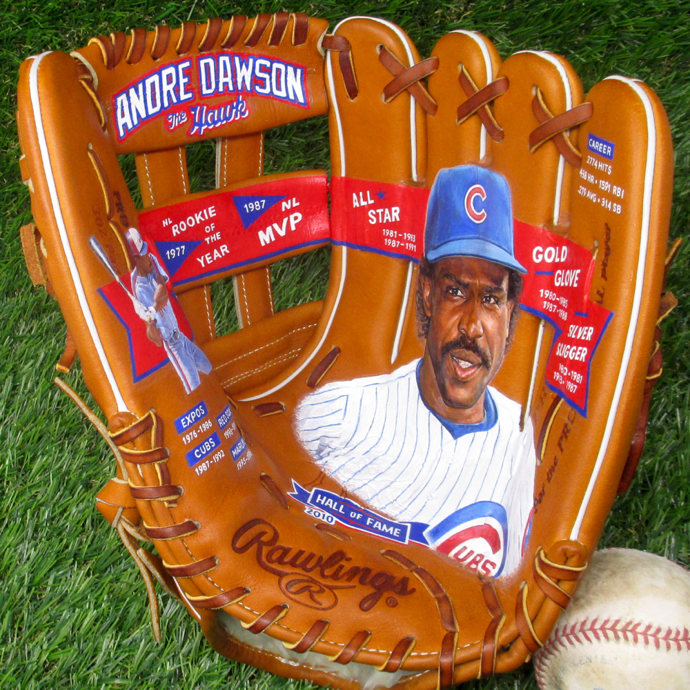"Andre Dawson ""The Hawk"" [SOLD]  Info >"