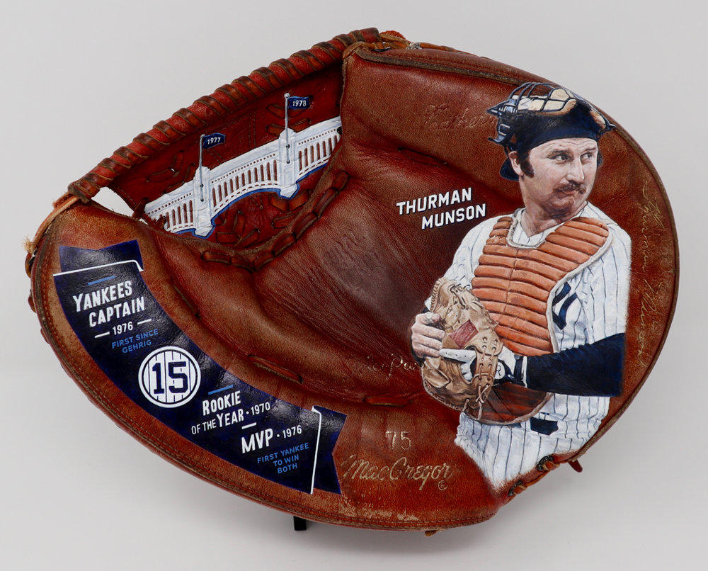 Thurman Munson [SOLD]  Info >