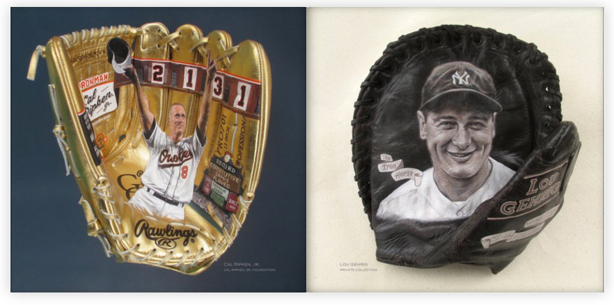 Ripken and Gehrig pages.