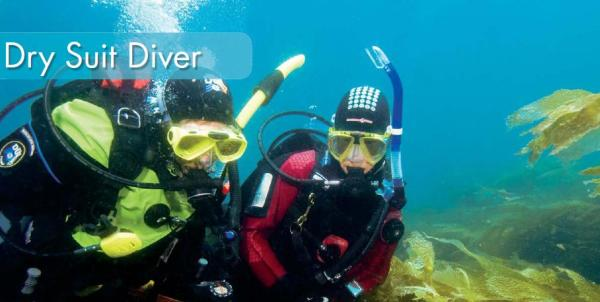 Dry Suit Diver — Dive Georgia - Atlanta Metro Scuba, Snorkel, Travel ...