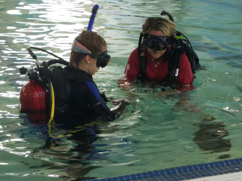 Padi Confined Water Dive Georgia Atlanta Metro Scuba Snorkel