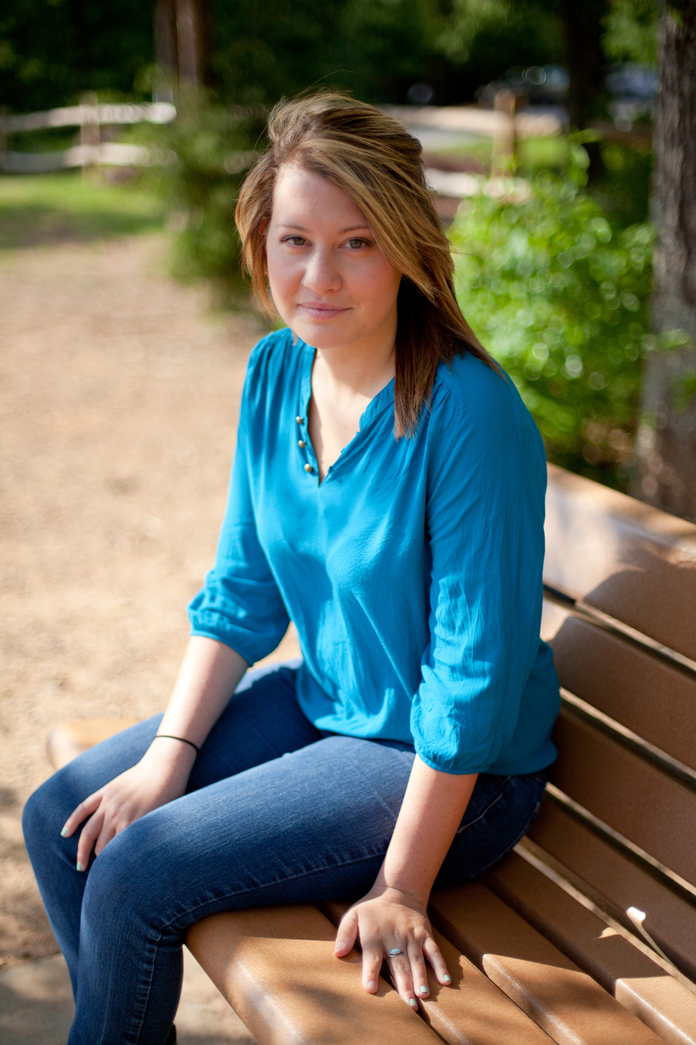 Portraits of a Girl at a Park in Cary, North Carolina