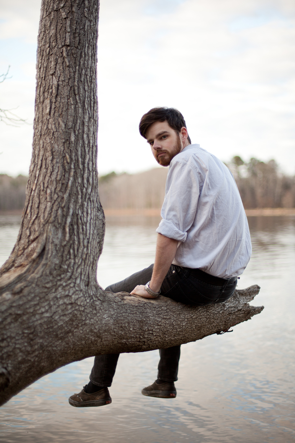 Portrait Photography at Falls Lake in Raleigh, NC