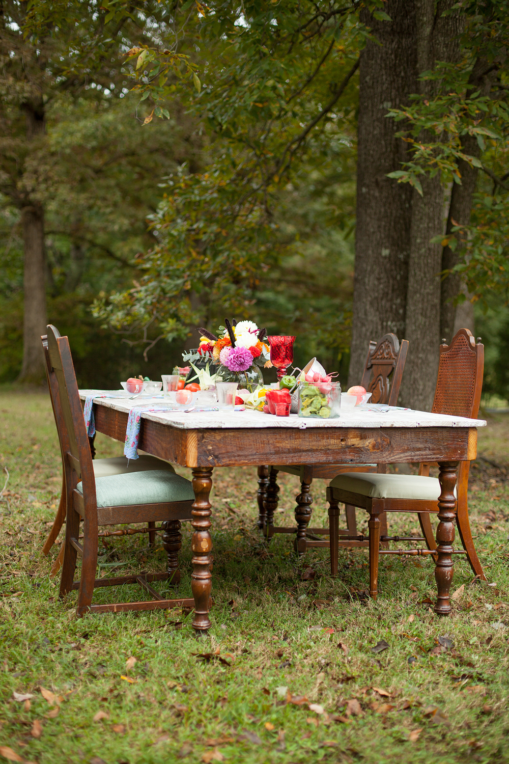 A Southern Table Setting Inspiration by Ashlee Little Weddings + Events