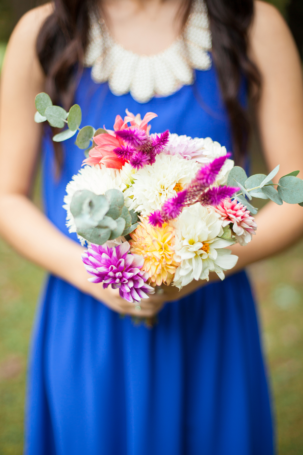 Colorful Wedding Bouquet Inspiration by Ashlee Little in Durham, NC