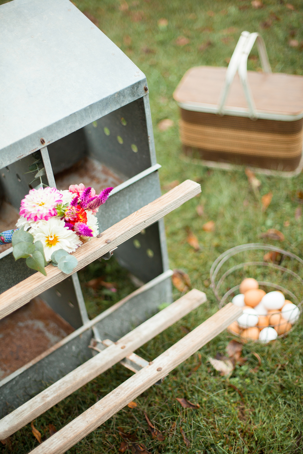A Cute Trough Wedding Rental by Simply Put Vintage Rentals in Raleigh, NC