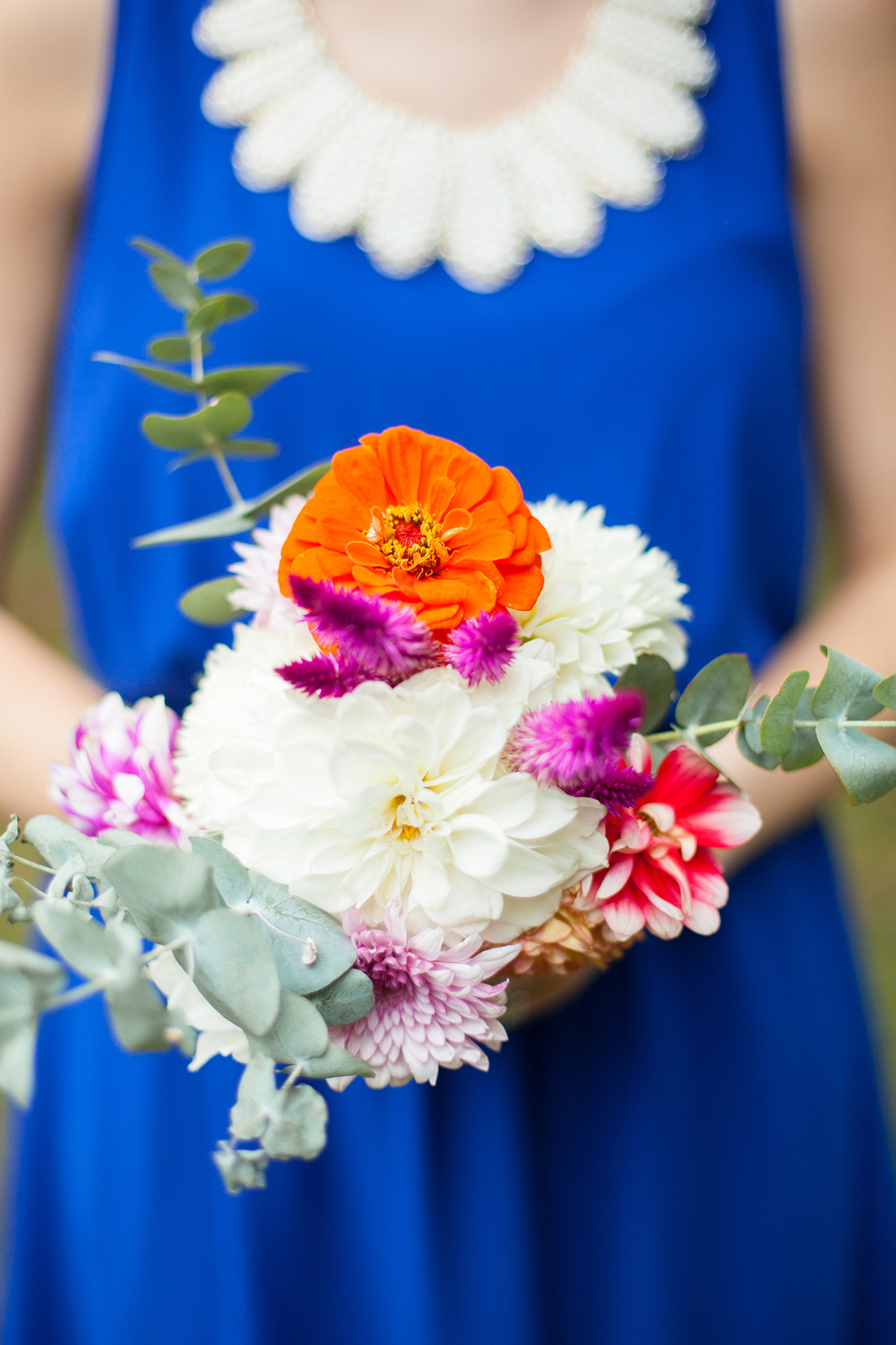 Vibrant Bridesmaid Bouquet by Ashlee Little