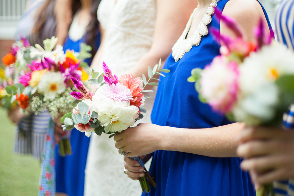 Rustic Bridal & Bridesmaid Bouquets by Ashlee Little Weddings + Events in Durham
