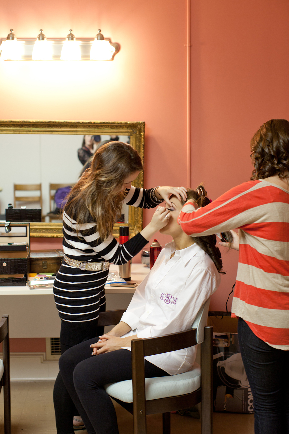 Bridal Makeup & Hair at Fairmont United Methodist Church