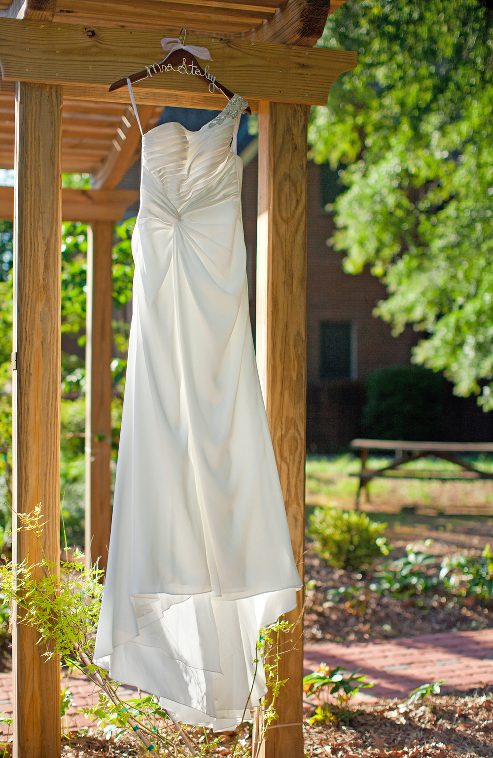 A Wedding Dress at Fairmont United Methodist Church