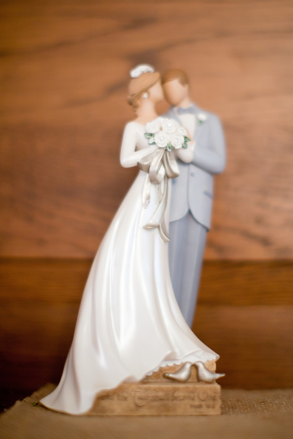 A Bride & Groom Statuette