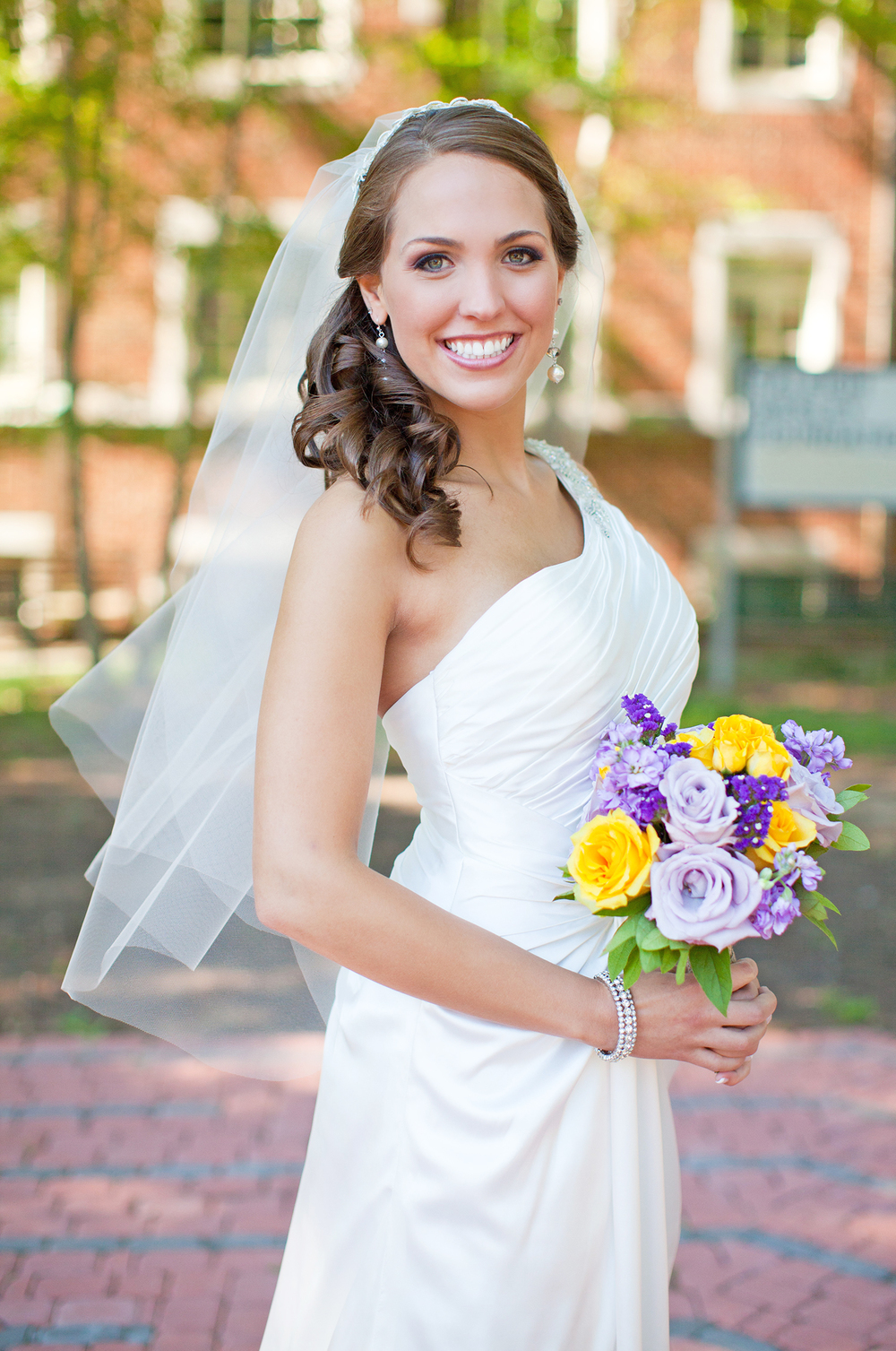 A Bridal Portrait in Raleigh, NC