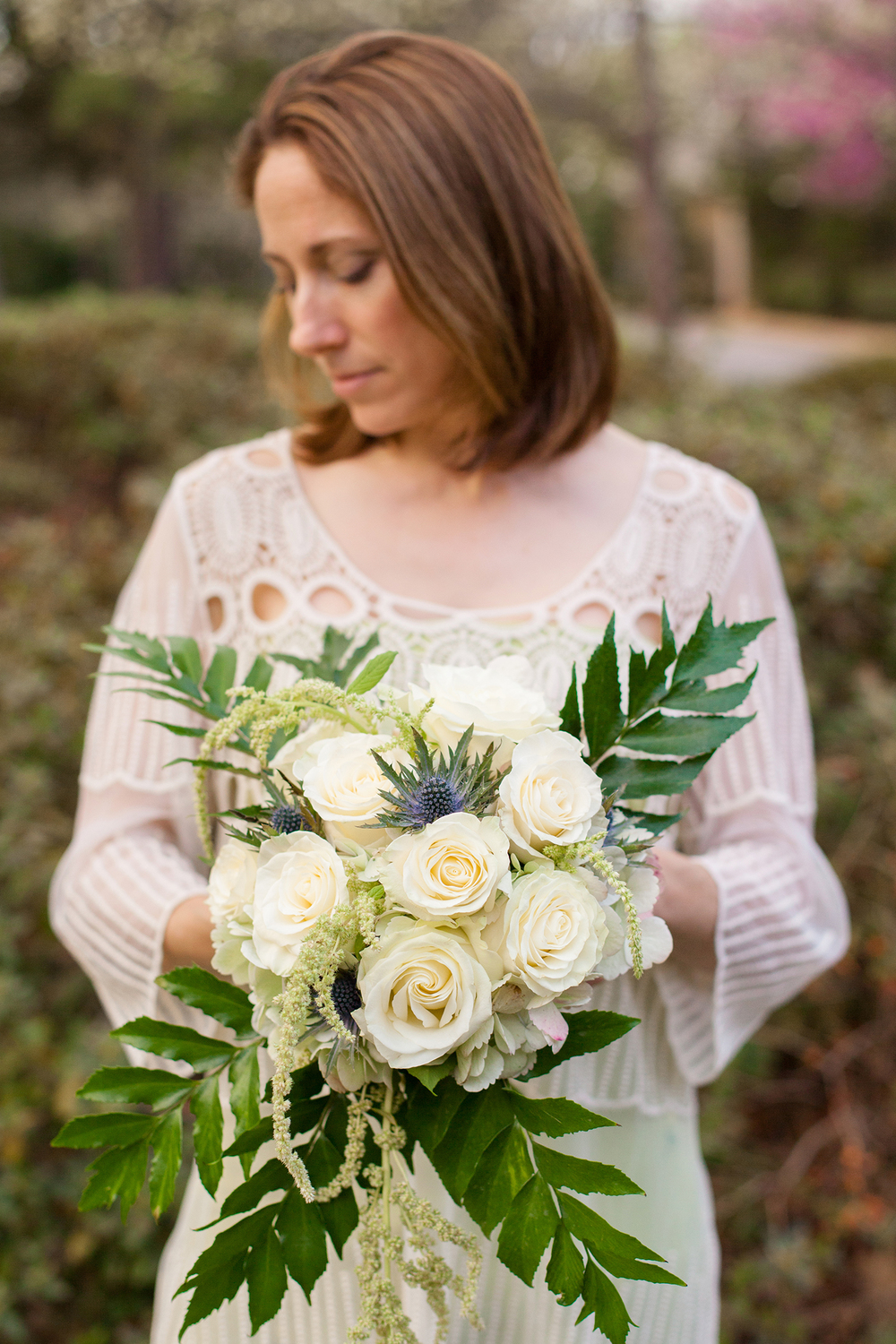 Ivory & Green Floral Bouquet