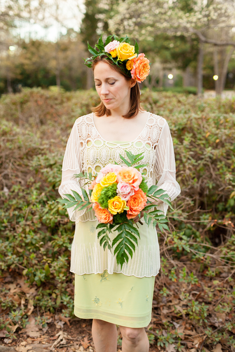 Coral, Pink, & Yellow Florals by Eclectic Sage