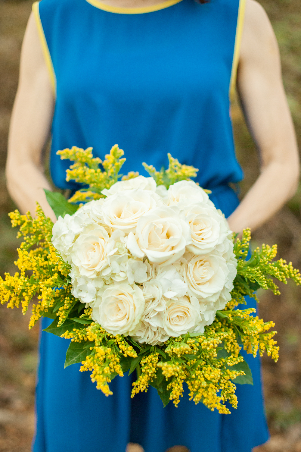 Ivory & Yellow Bouquet by Eclectic Sage