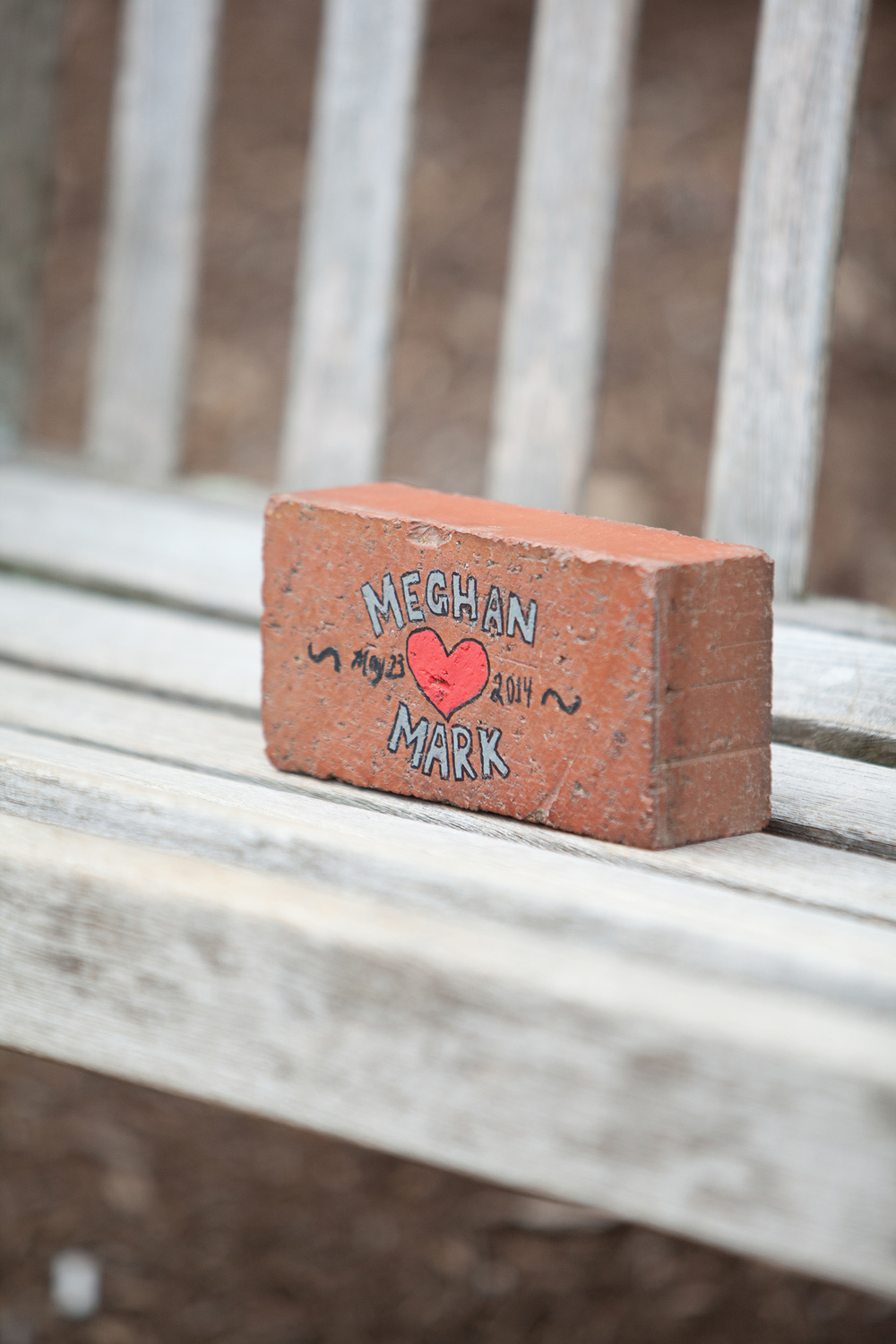 A Proposal Brick at North Carolina State University's Brickyard