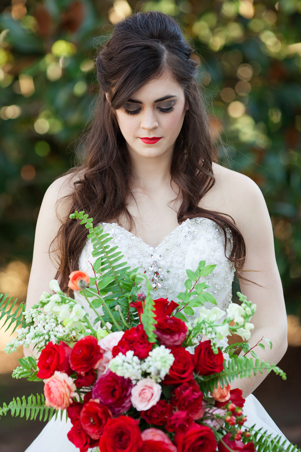 Beauty & the Beast Bride in Raleigh, North Carolina