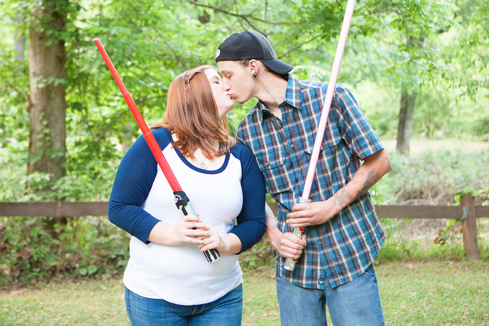 Awesome Star Wars Engagement Photography