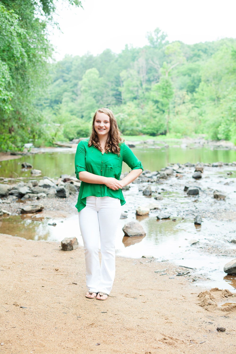Green Senior Portraits
