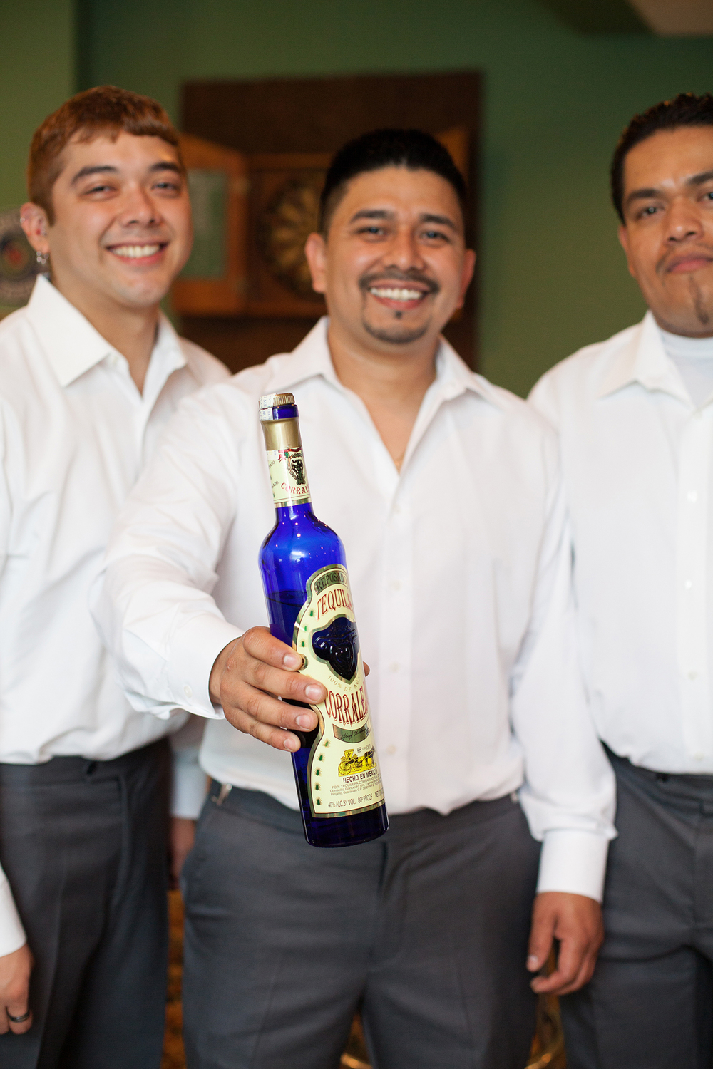 Tequila Before a Wedding