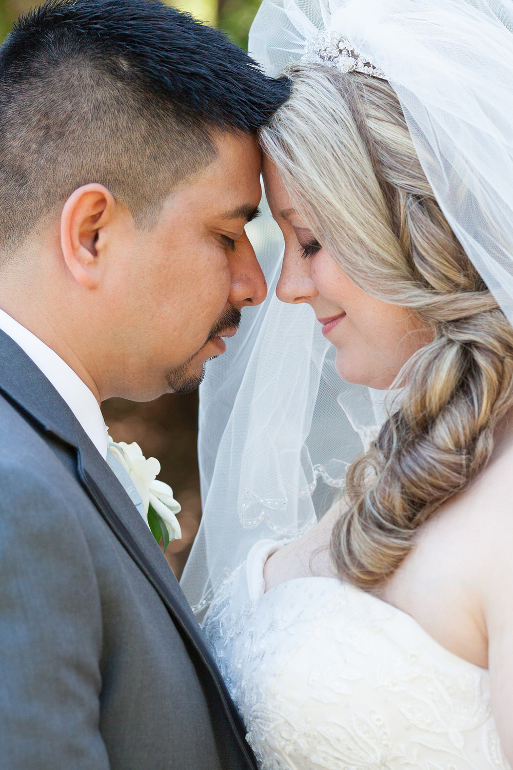 Romantic Wedding Portrait in Chapel Hill, NC