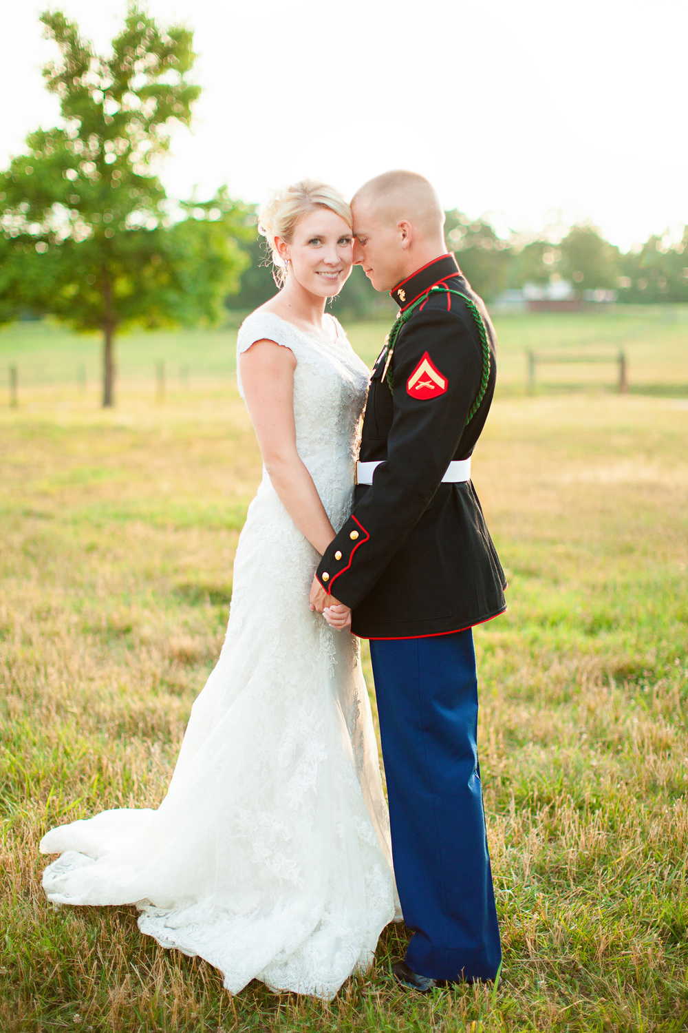 Military Wedding in NC