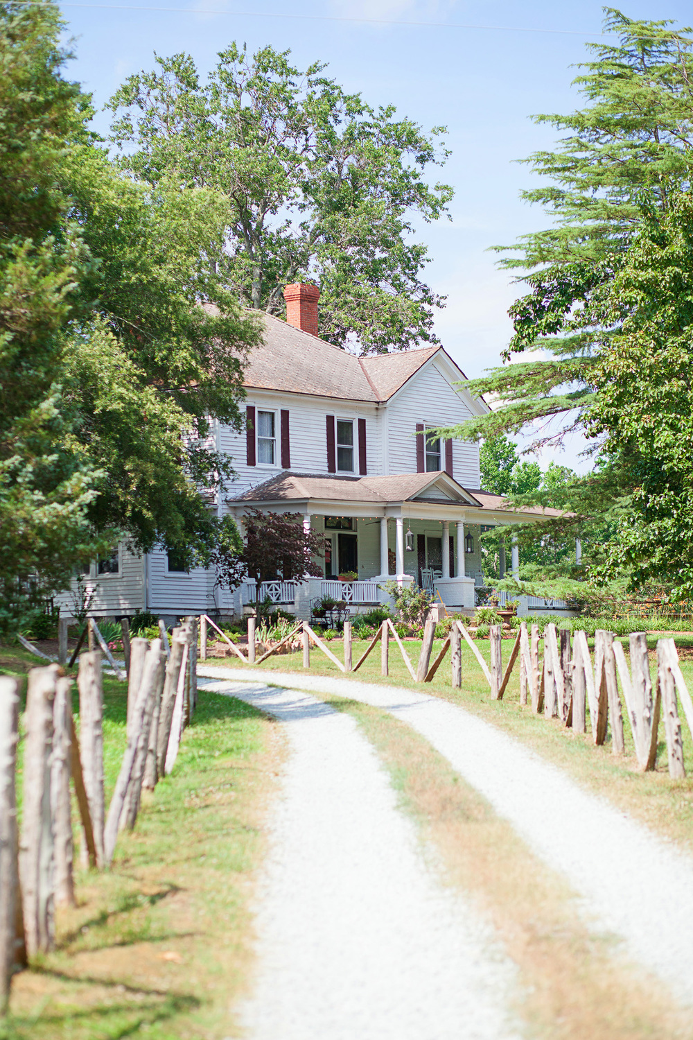 Farmhouse at Elodie Farms