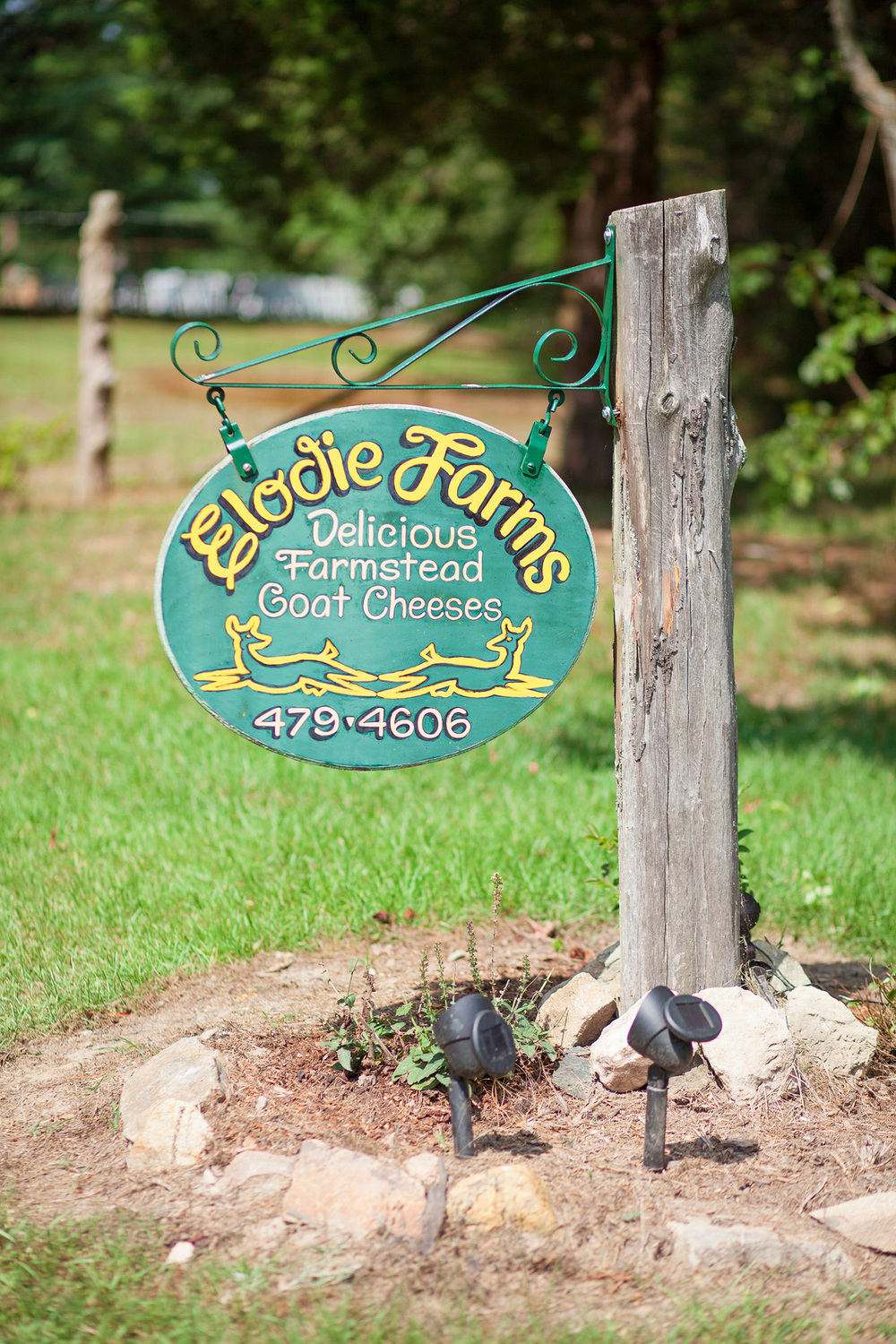 Elodie Farms Sign