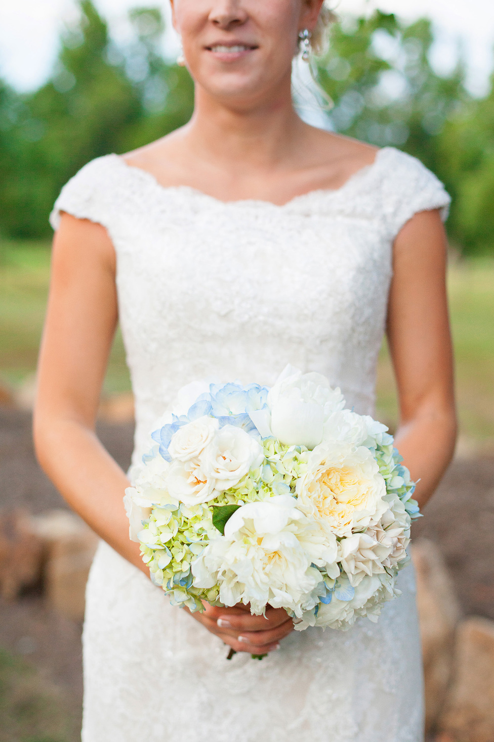 Carolina Blue Wedding Bouquet